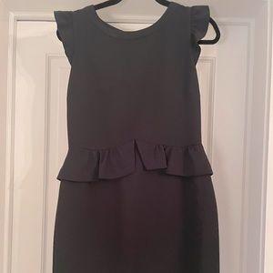 Sandro Black Midi Dress